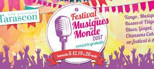 EN CONCERT @ Festival Musiques du Monde de Tarascon @ Place du Marché
